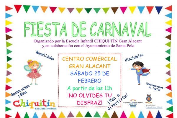 ¡Fiesta de Carnaval!