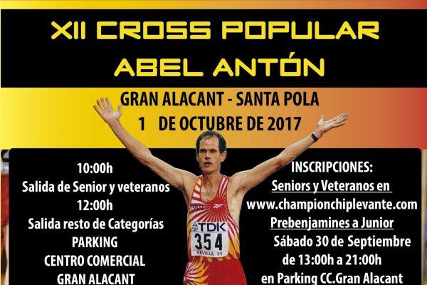 Cross Abel Antón en CC Gran Alacant