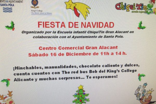 Fiesta Chiquitin en CC Gran Alacant