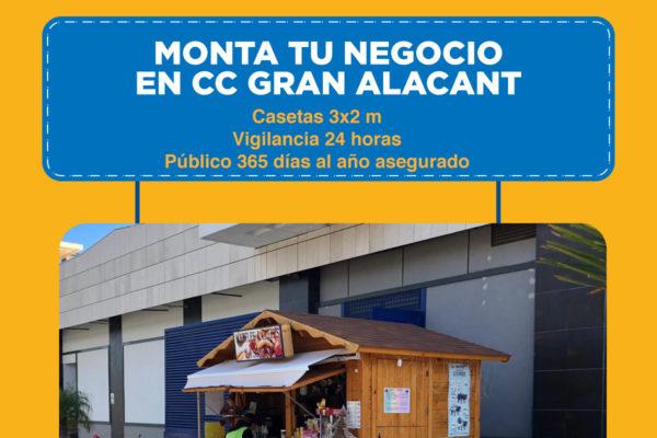 Monta tu negocio en CC Gran Alacant