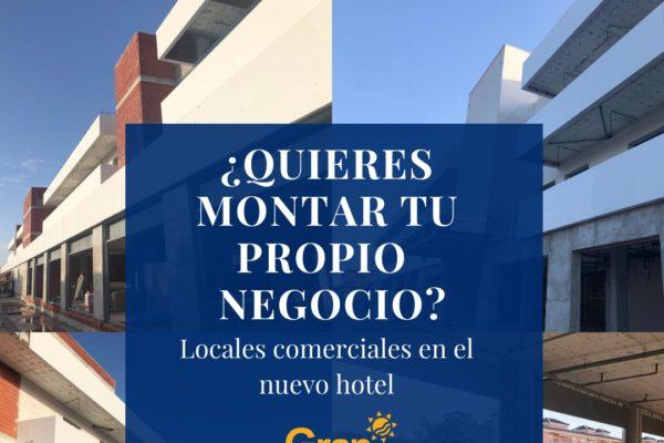 Locales comerciales en AJ Hoteles