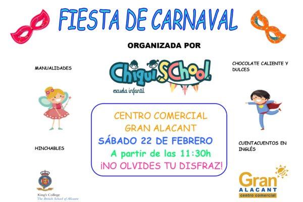 Carnaval en CC Gran Alacant