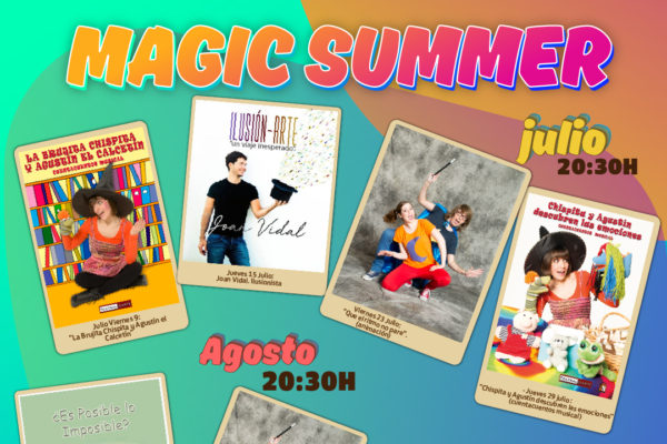 Un verano mágico en CC Gran Alacant
