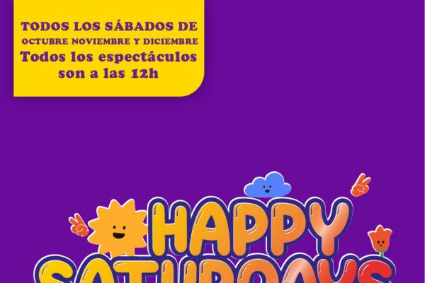 Happy Saturdays: actuaciones de otoño